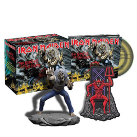 Box Iron Maiden - The Number Of The Beast 2018 - Cd + Eddie