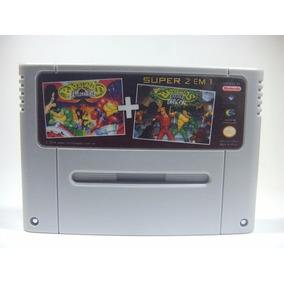 Battletoads E Double Dragon Super Nintendo Frete Grátis 2em1