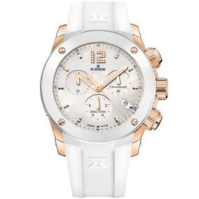 Reloj Edox Class 1 Chrono 1041137rbnair Ghiberti