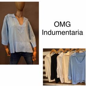 Camisa Chomba Blusa Mujer Vestir - Ropa y Accesorios en Mercado ... 8f15b6eab14