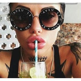 Óculos Feminino Fashion Lentes Grandes Abelha Nome Aro · 2 cores. R  69 06ec0513d1