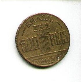 Egoto-v 154-moeda 500 Réis 1937 Diogo Antonio Feijó