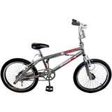 Bicicleta Freestyle Rodado 20 Cromada Siambretta