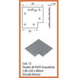 Esquadreta Para Montagem De Portas-1,90 X 65 X 88mm