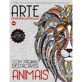Livro De Colorir Antiestresse - Animais