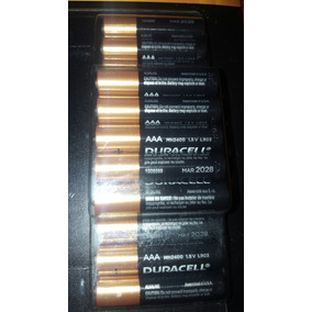 Pilas Aaa (triple A) Duracell Paquete 32 Pilas.