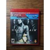 Heavy Rain Playstation 3 Ps3 Gran Estado !!