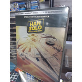 2 Bluray+dvd Star Wars / Han Solo Steelbook Envio Gratis