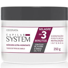 Máscara Ultra -hidratante 250g Milagreem 3 Minutos Promoção