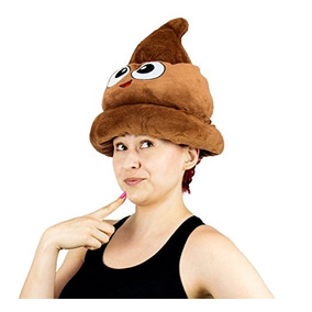 fb05be1fc3f42 Fiesta Juguetes Emoji Impulso Del Emoticon Felpa Sombrero -