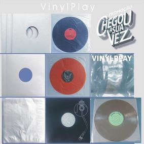 44 Capas Disco Vinil Lp + 44 Plásticos Interno+44externo