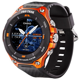Relógio Smartwatch Casio Gps Orange Wsd-f20