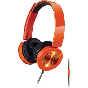 Fone Headphone Panasonic Sound Rush Plus Rp-hsx400m Laranja