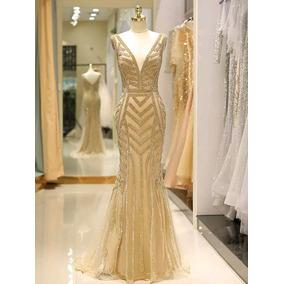 Luce Delgada Con Vestido De Noche E-180904001 Envio Gratis