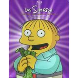 Los Simpson Treceava Temporada 13 Trece Blu-ray