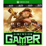 Recore Definitive Edition - Xbox One - No Codigo - Off-line