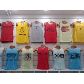 Camisetas Regatas Malha De Algodão Atacado - Calçados 34c8ed0f711