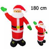 Viejo Pascuero Inflable 180cm Navidad / Envío Gratis!