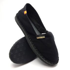caf3128e59 Sapatos Femininos - Alpargatas Preto no Mercado Livre Brasil