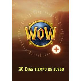 Suscripción World Of Warcraft 30 Días ( Server: Americano )