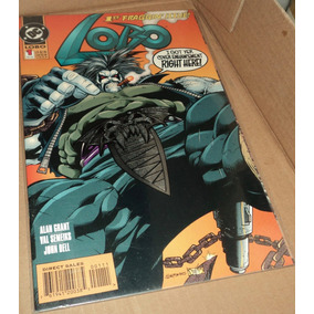 Lobo N# 1 Dc Comics Capa Especial Metal Batman Superman