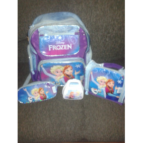Kit Mochila Frozen