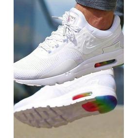 zapatillas blancas hombres nike air max
