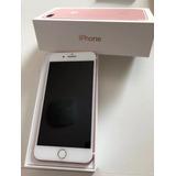 iPhone 7 Plus 128gb Rose - Caixa Original Em Perfeito Estado