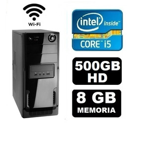 Cpu Pc Gamer Core I5 3570 3.8ghz 8gb Hd 500gb Wifi Fonte 500