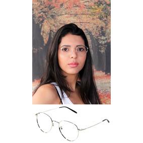 Armação Para Óculos De Grau Burberry - Óculos Prateado no Mercado ... d16f711728