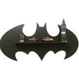 Nicho Decorativo Mdf Modelo Batman Parede Infantil