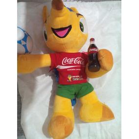 Coca-cola Fuleco Mascote Copa Fifa 2014 Frete Gratis