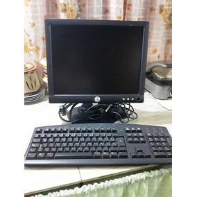 Se Vende Monitor Con Teclado Marca Dell