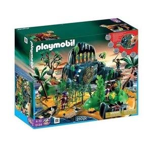 Playmobil Ilha Aventuras Pirata 5134 - Original - Completa