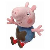 b503cddb5 Pelúcia Ty Beanie George Pig Da Peppa Pig Original Dtc