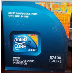 Processador Intel, Core 2 Duo, E7500 2.93ghz, 3mb