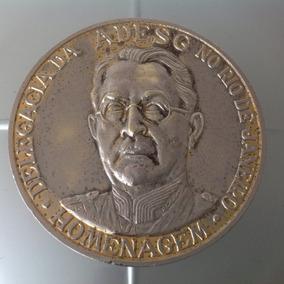 Magnifica Medalha Homenagem 100 Anos De Mascarenhas D Moraes