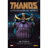 Marvel - Thanos 1 Al 4 - Novela Gráfica