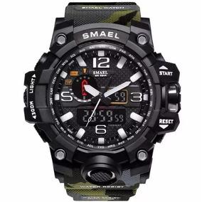 Relógio Esportivo Original Smael Camuflado Prova D