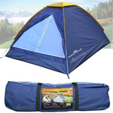 Barraca Acampamento Nautika 3 Pessoas Impermeavel Camping