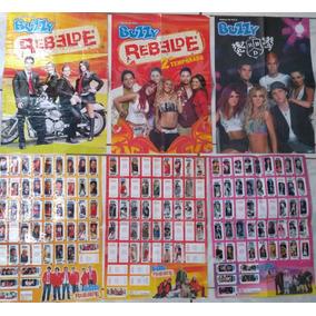 Coleção Rbd Rebelde: Pôsters, Revistas, Álbuns E Cds