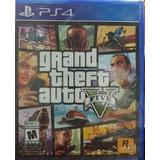 Grand Theft Auto V.-ps4 (gta V)