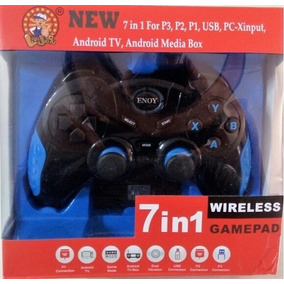 Controle Joystick Android Tv Box 7 Em 1 Playstation Pc Not !