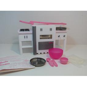 Horno Mágico De La Barbie Con Accesorios. Mattel 2000.