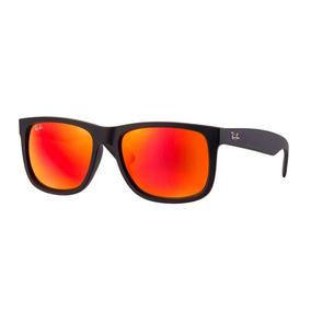 Oculos Rayban Justin Vermelho - Óculos no Mercado Livre Brasil d5782d517a