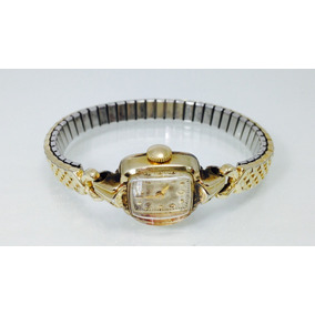 Reloj Hamilton Dorado Gold Filled 14k. (inv 627)