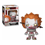 Funko Pop Pennywise 544 With Wrought Iron It