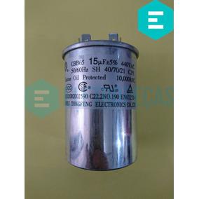 Capacitor Ar Condicionado 15uf + 5% 440vac