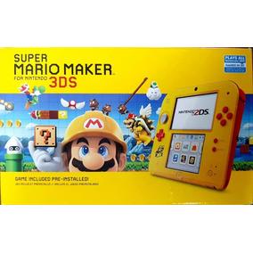 5cf9a3d016 Nintendo 2ds Incluso Mario Maker - Novo De Fábrica