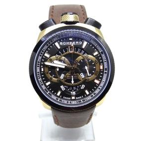 Reloj Bomberg Modelo Bolt 68 Cristal Antirreflejante Zafiro
